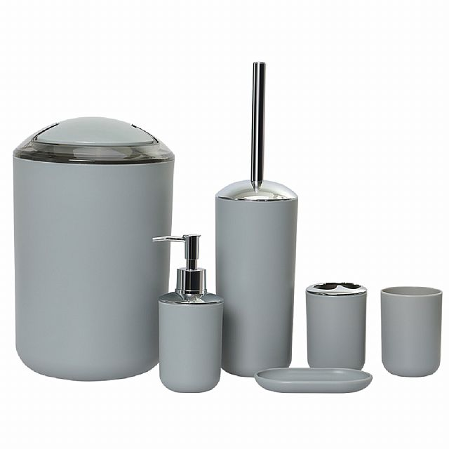6 Pcs Bathroom Tool Set